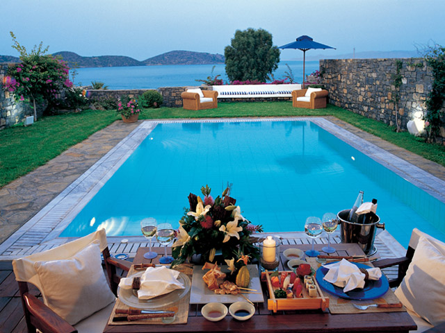 Elounda Beach Exclusive Club  Island Villas Pool Area