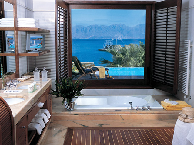 Elounda Beach Exclusive Club  Island Villas Bathroom