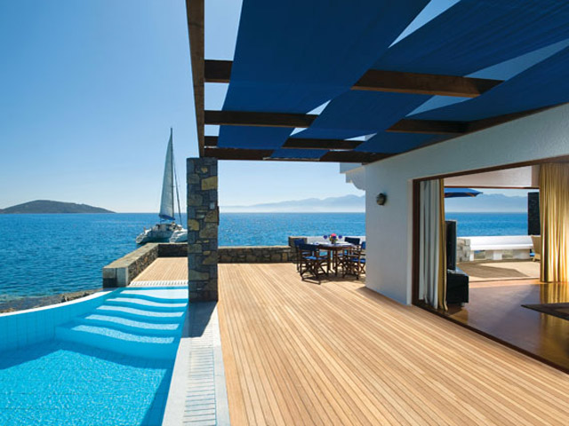 Elounda Beach Exclusive Club  Presidential Suites Exterior View