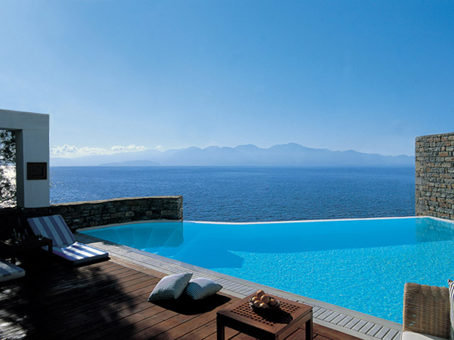 Elounda Beach Exclusive Club  Presidential Suites Pool Area