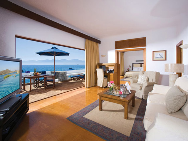 Elounda Beach Exclusive Club  Presidential Suites Living Room