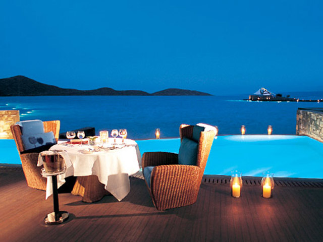 Elounda Beach Exclusive Club  Presidential Suites Dining Area
