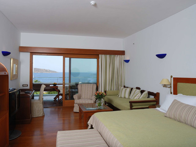 Elounda Beach Comfort VIP Club  Luxury Rooms Bedroom