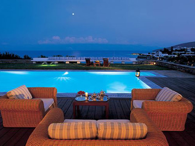 Elounda Bay Palace Grand Suite Pool Area