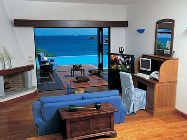 Elounda Bay Palace Grand Suite Living Room