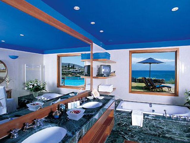 Elounda Bay Palace Grand Suite Bathroom