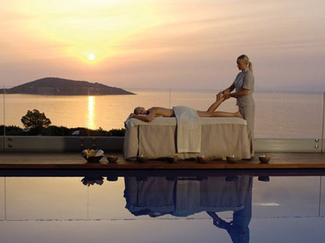 Elounda Bay Palace Spa sunrise