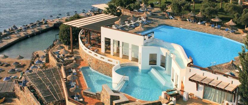 Aquila elounda village elounda luxury hotel crete for Blue sea motor inn