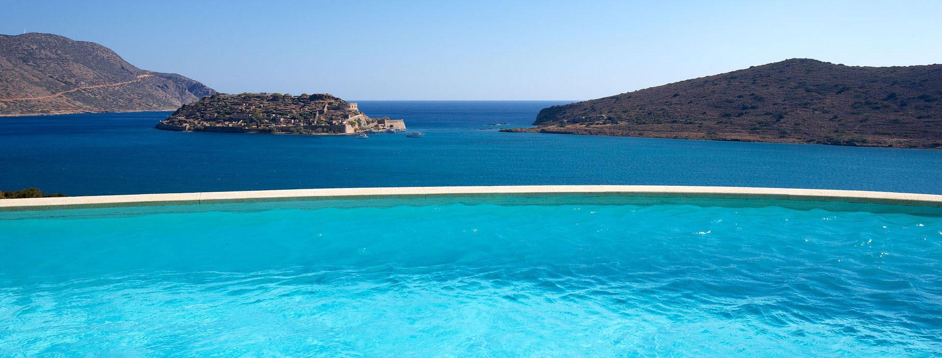 Domes Of Elounda Resort & Spa - Villa Aptera pool view