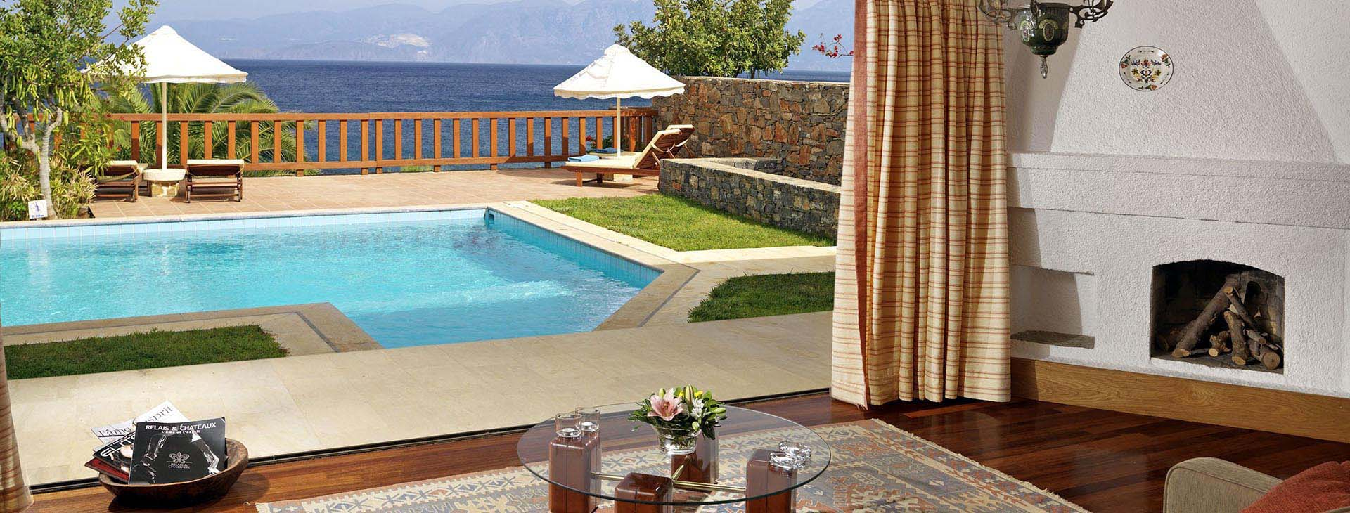 Elounda Mare Hotel - Relais Châteaux - Royal Suites with terrace