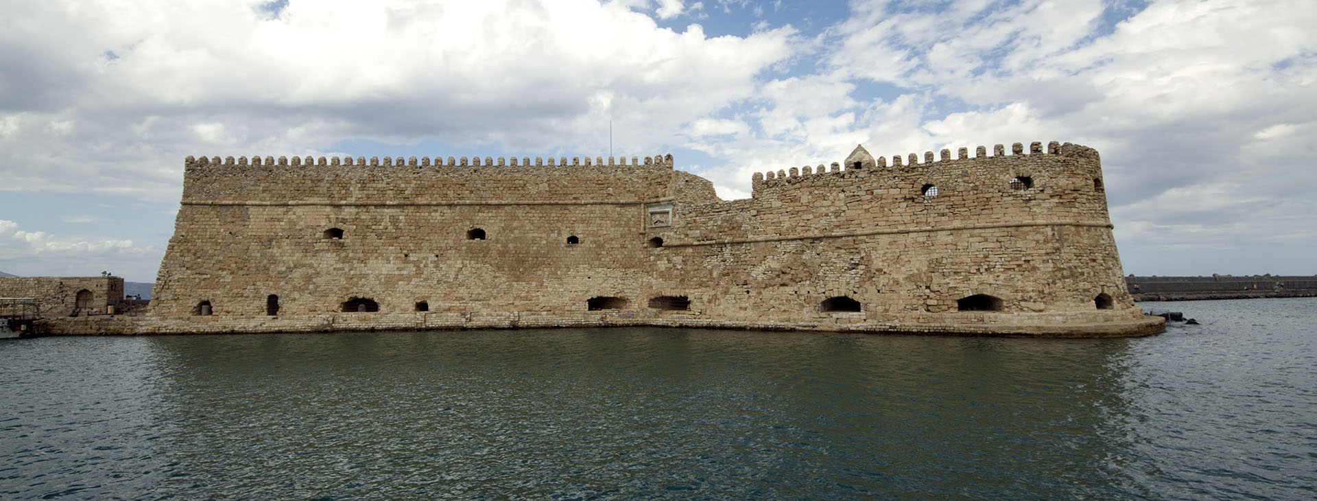 Koule castle in the old harbour, Heraklion city