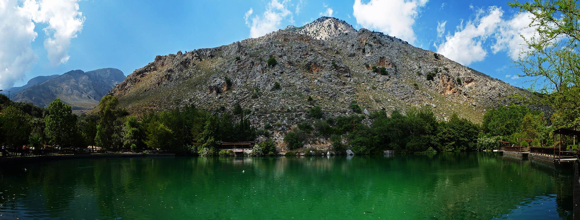 Zaros lake, Heraklion