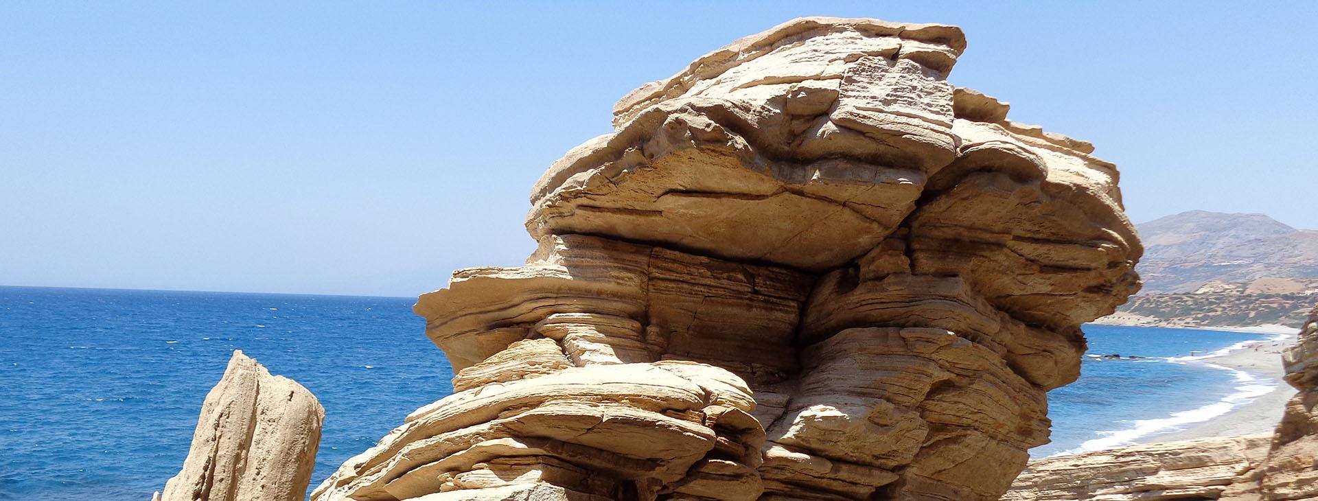 Triopetra beach, Rethymnon