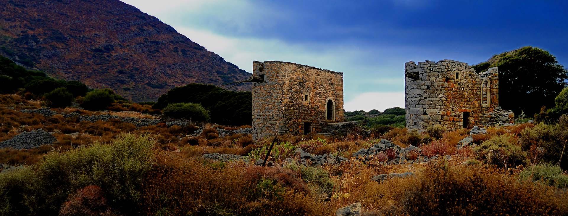 Windmills at the Lasithi Plateau, Lassithi