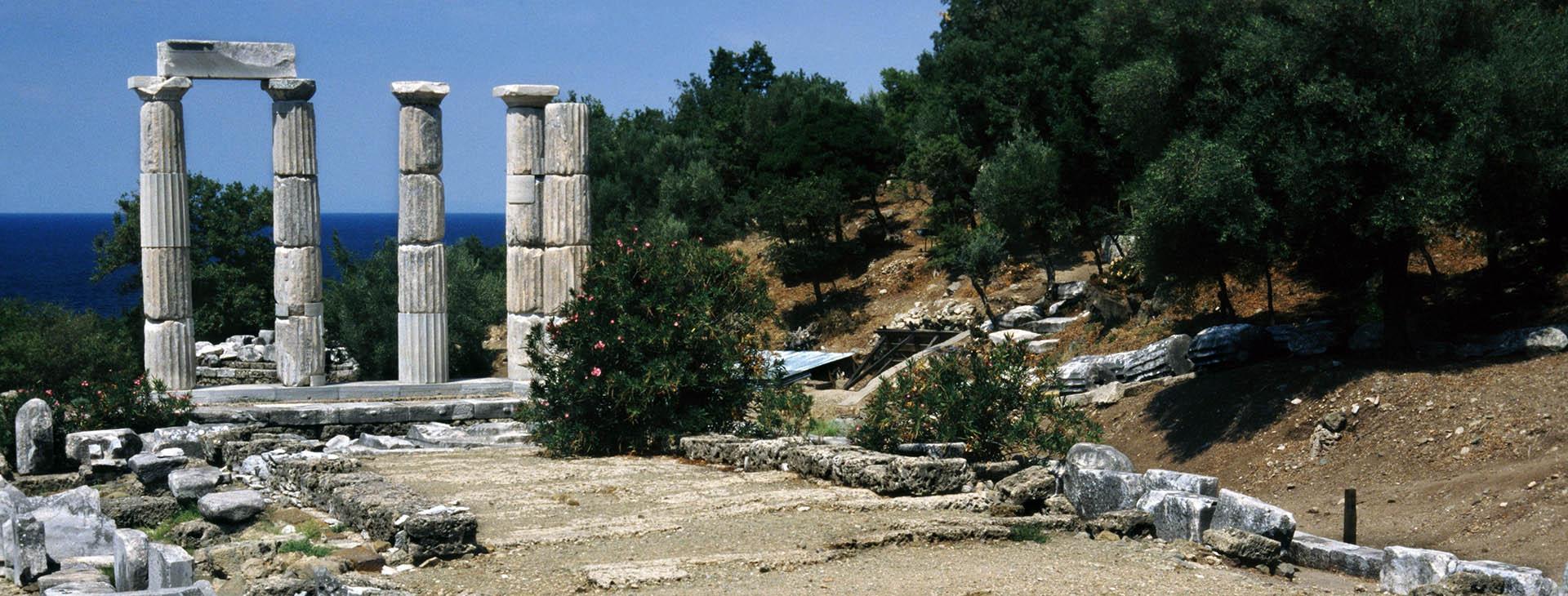 Sanctuary of the Great Gods, Palaiopolis, Samothrace island