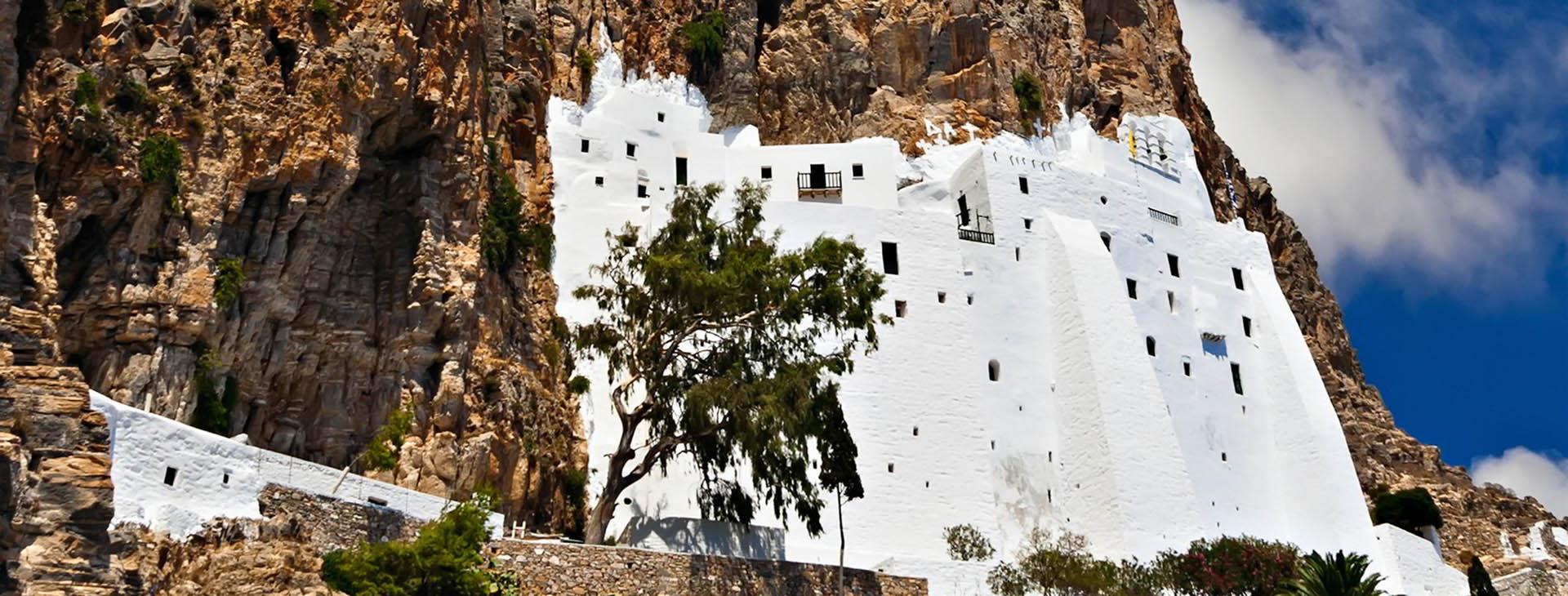 Monastery of Hozoviotissa, Amorgos island