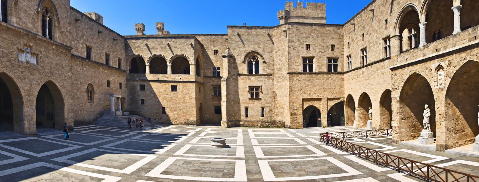 The Grand Master's Palace in Rhodes town