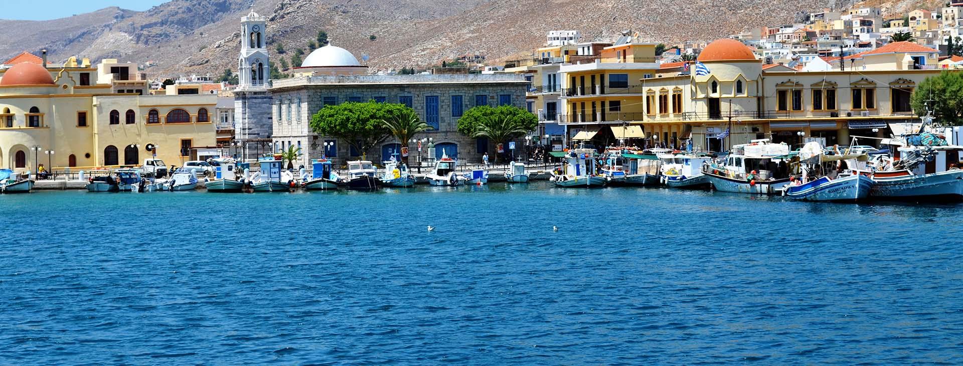 Kalimnos harbour