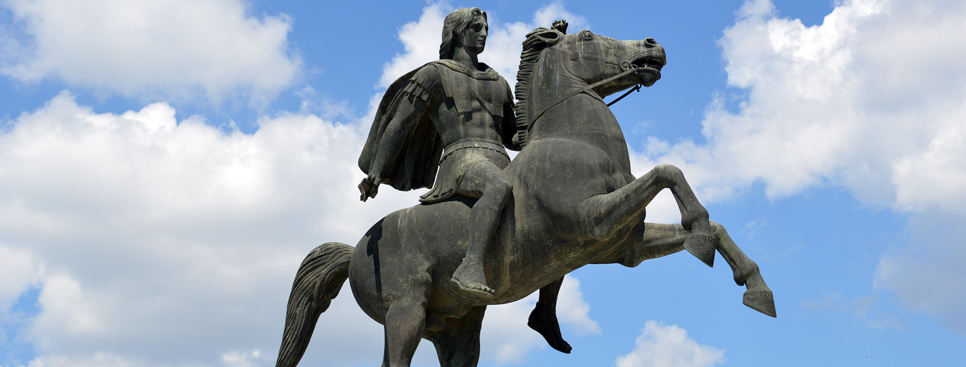 Alexander the Great statue, Thessaloniki City