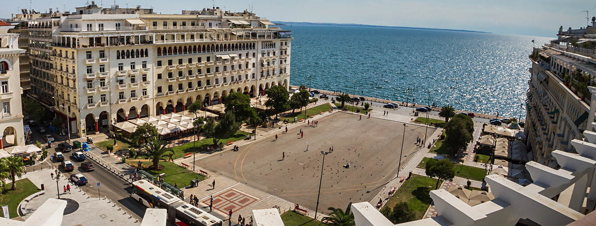 Aristotelous square, Thessaloniki City