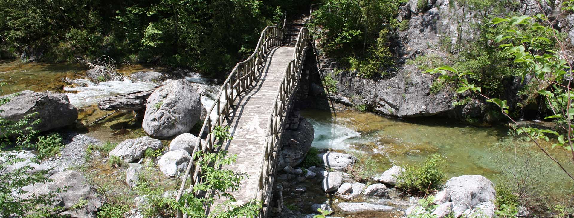 Bridge on Enipeas Gorge, Mt. Olympus, Pieria