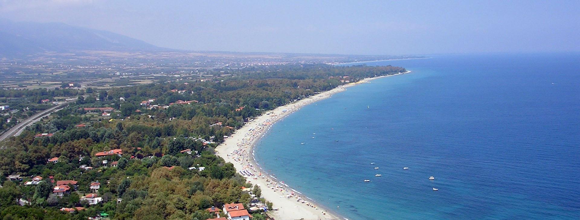 Scotina beach near Platamonas, Pieria