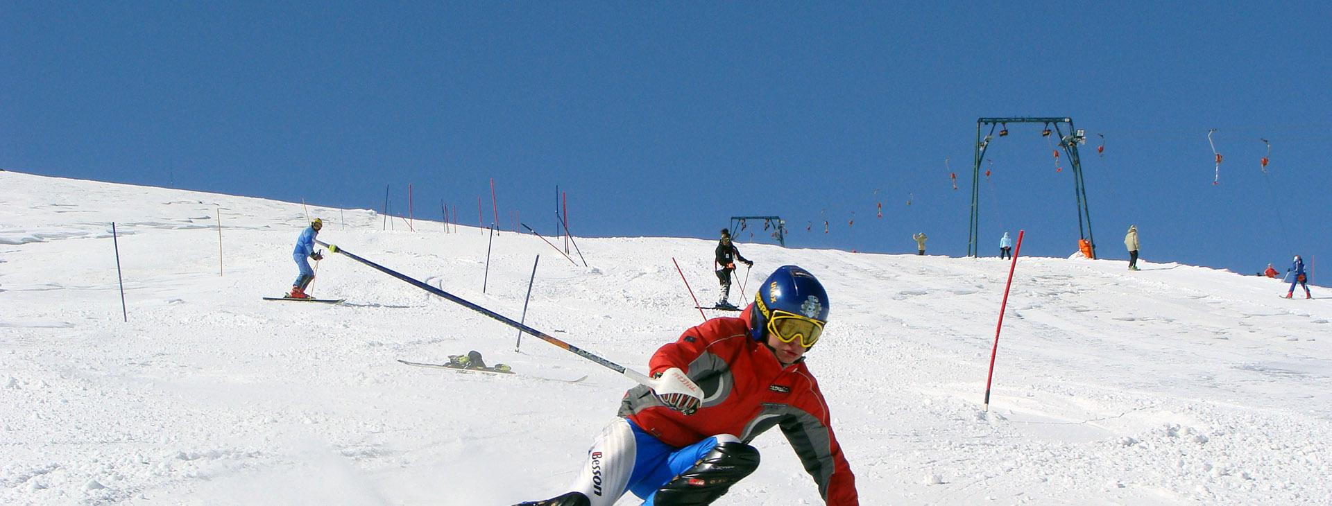 Kaimaktsalan ski center, Pella