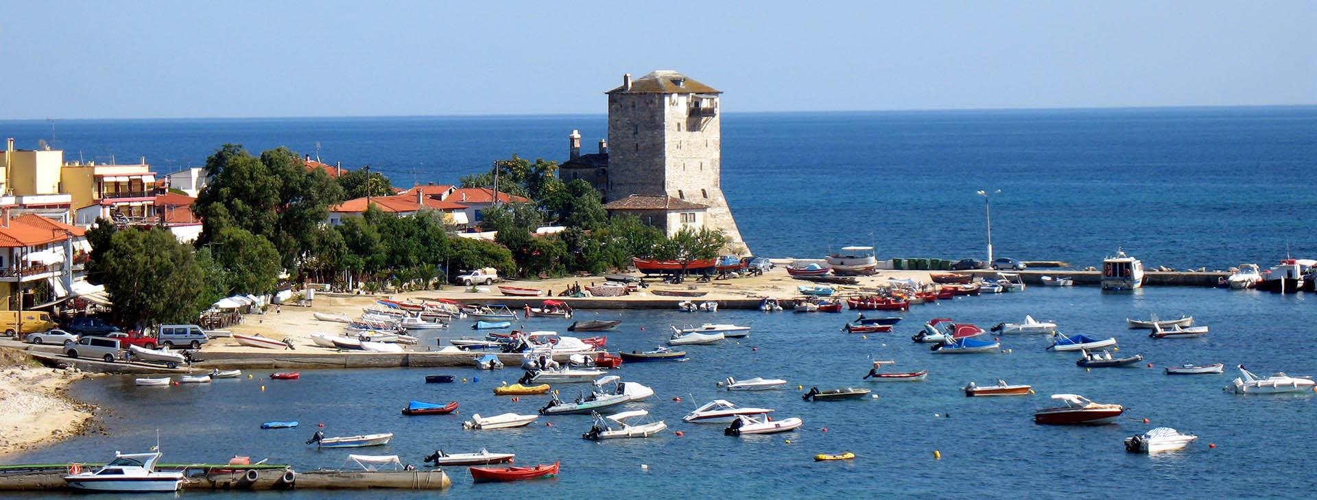 The Tower of Ouranoupolis, Athos, Halkidiki (Chalkidiki)