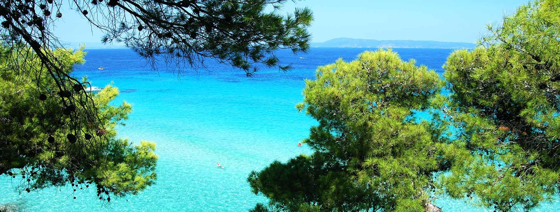 Beach at Nea Fokea, Halkidiki (Chalkidiki)