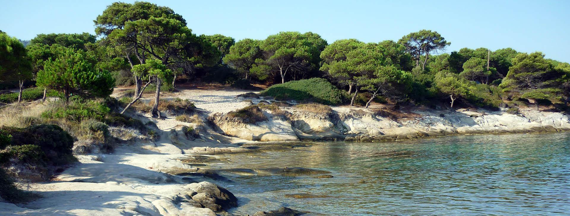 Beach at Halkidiki (Chalkidiki)