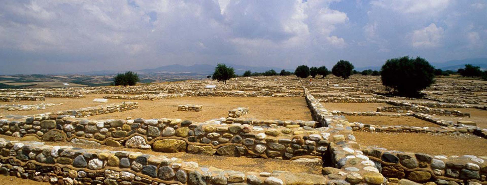 Archaeological site of Olynthos, Halkidiki (Chalkidiki)