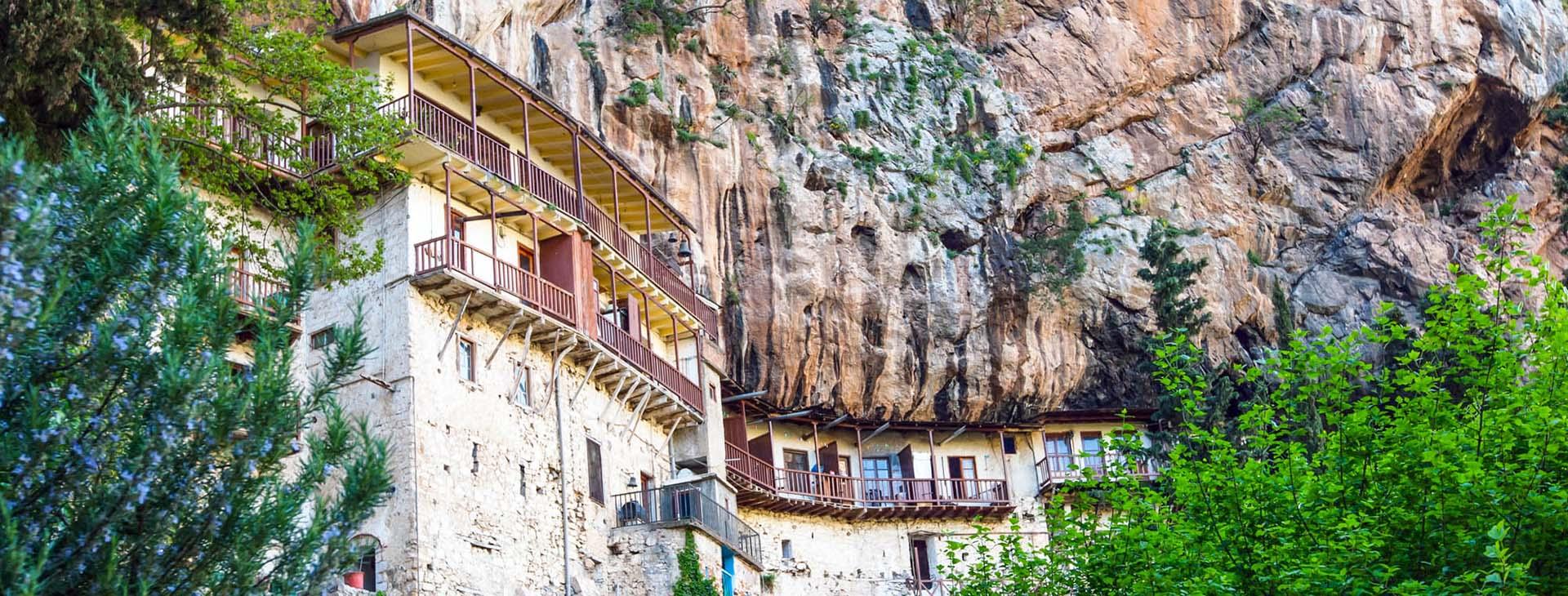 Agiou Ioanni Prodromou Monastery, Arcadia