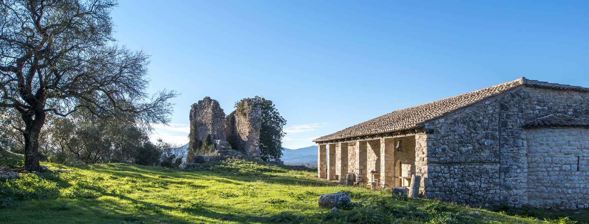 Castle of Rogoi and Assumption of the Theotokos, Preveza