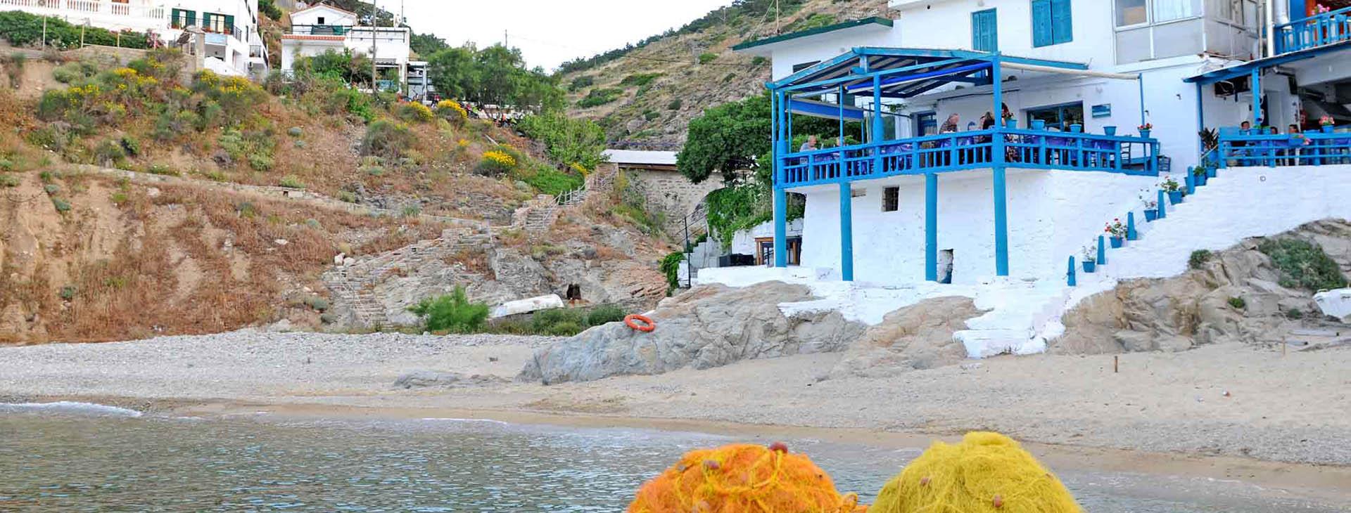 Armenistis village, Ikaria island