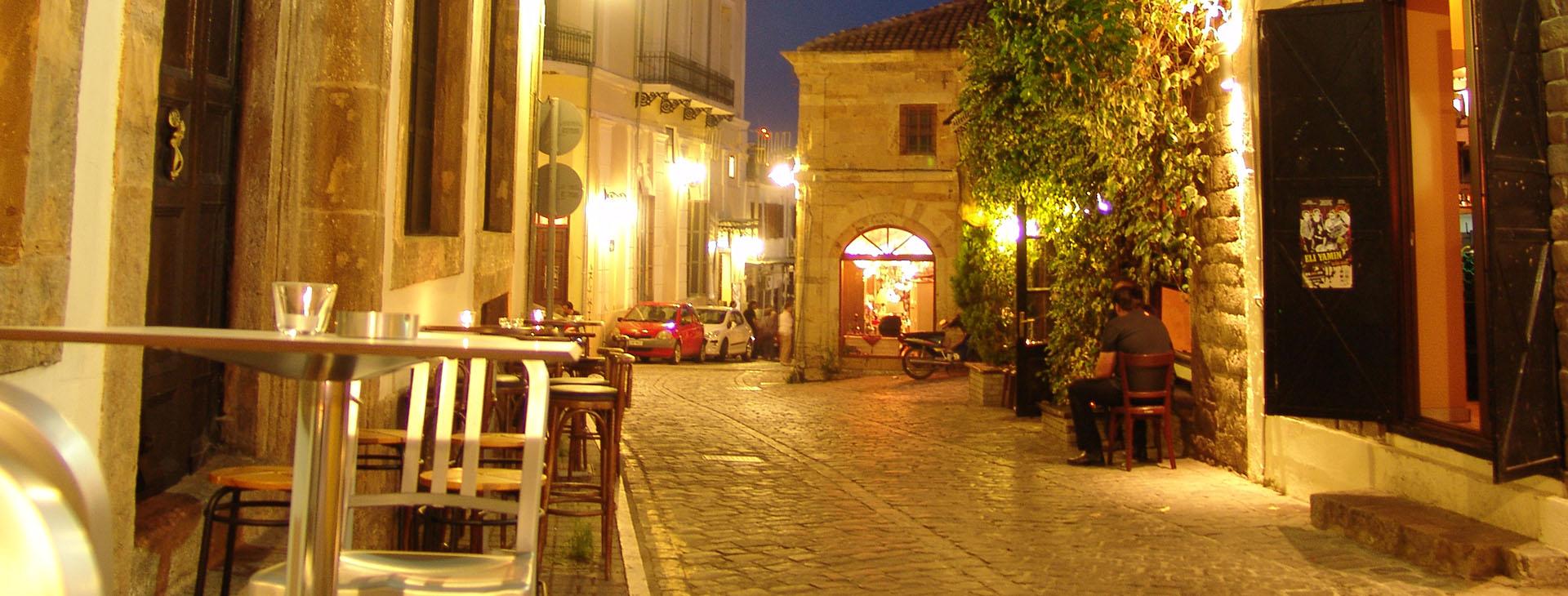 Xanthi, Old Town