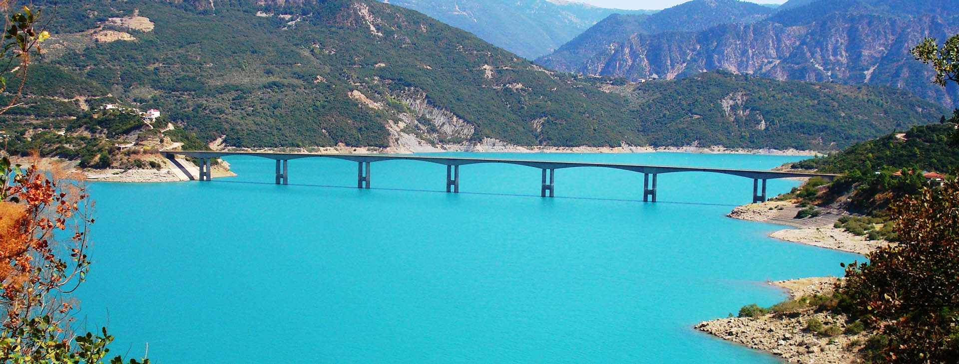 Episkopi Bridge - Kremasta lake, Aitoloakarnania