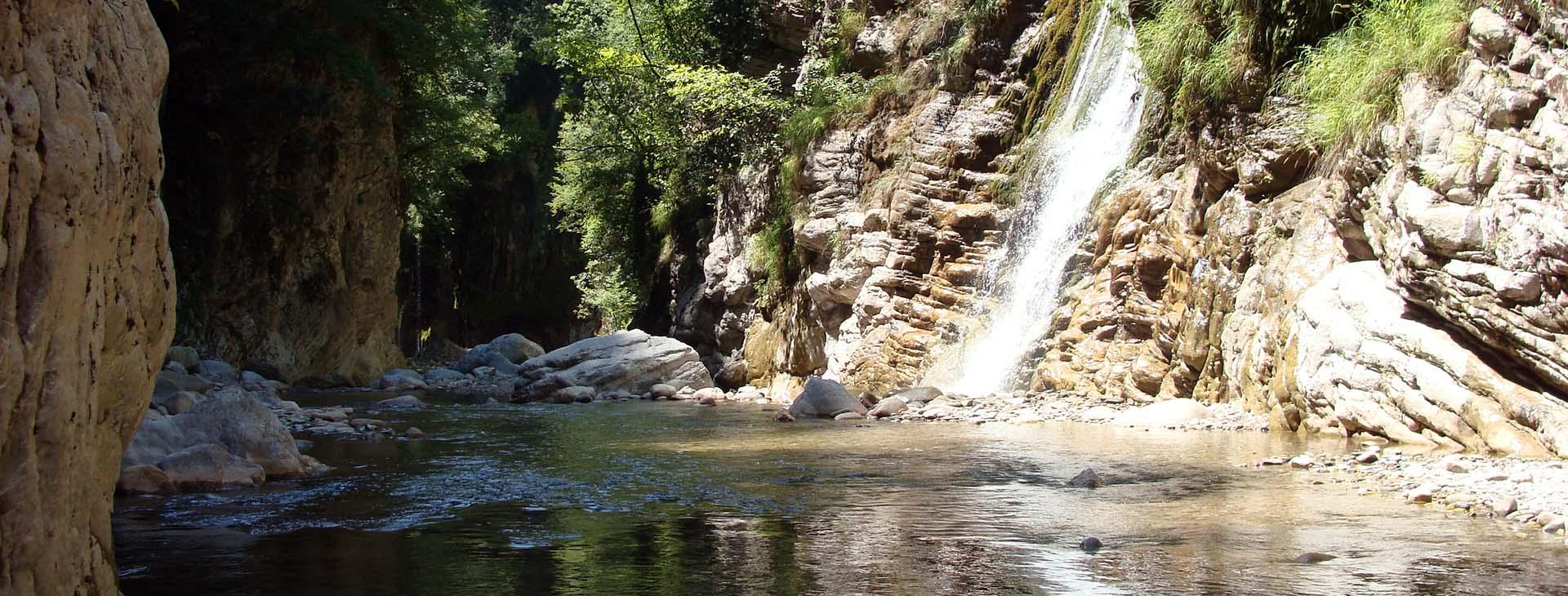 Krikelopotemos river / Pantavrechi gorge, Evritania