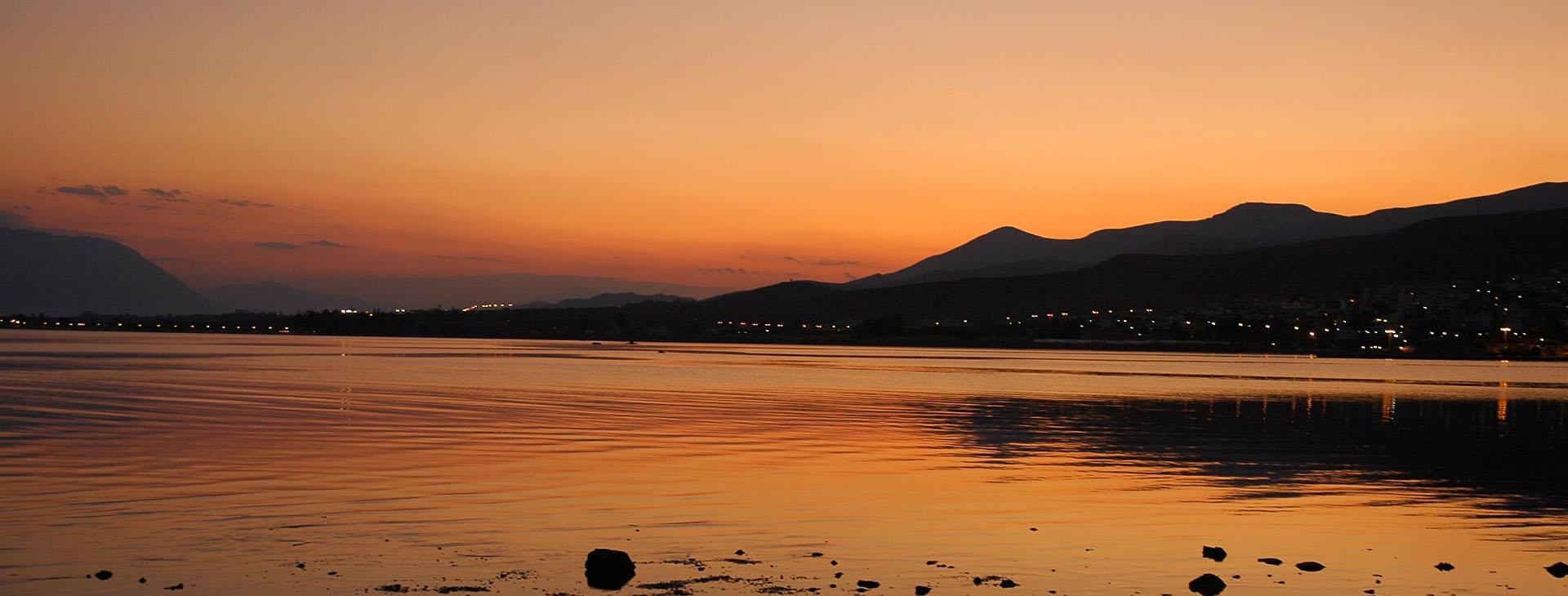 Sunset over Stylida, Fthiotida