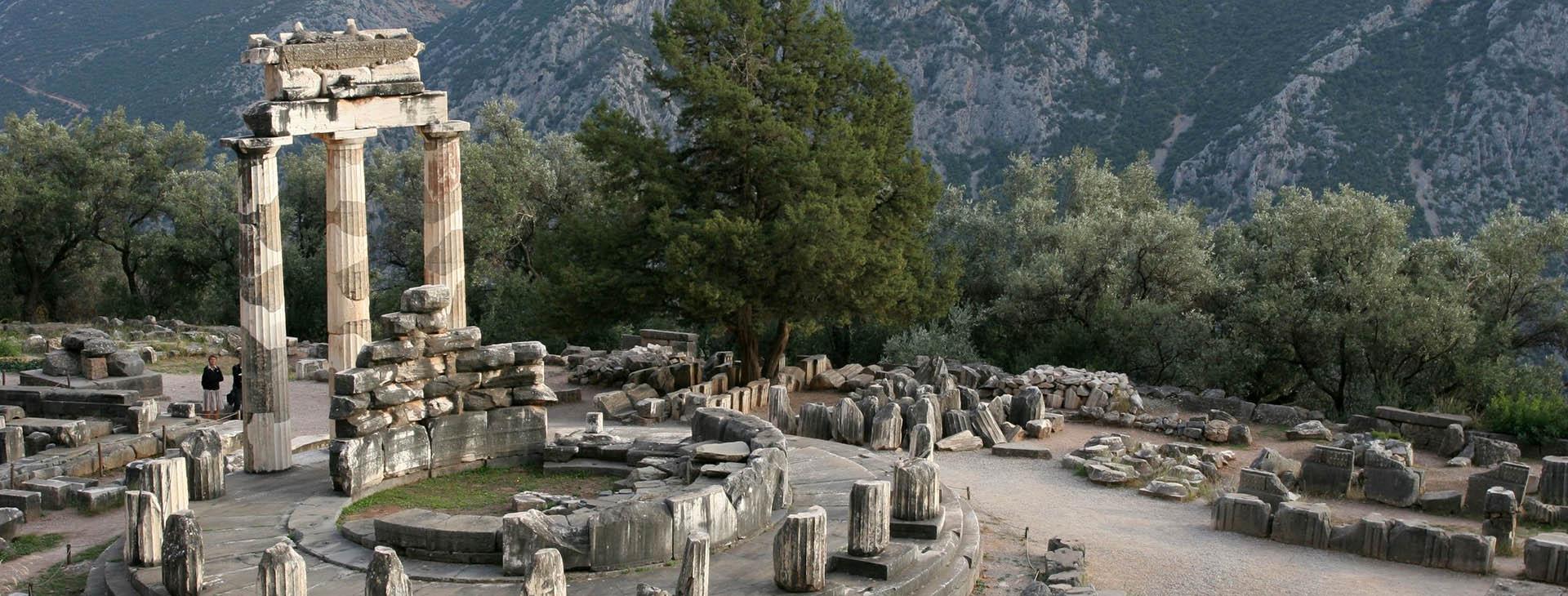 Delphi - Pronaia Sanctuary, Fokis