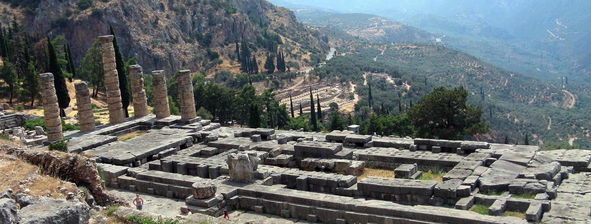 Delphi - Apollo Temple, Fokis
