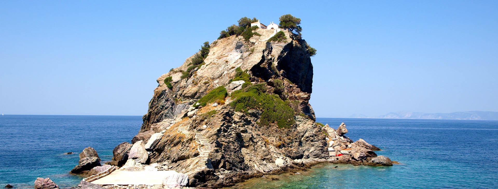 Agios Ioannis Chapel (Mamma Mia movie location), Skopelos