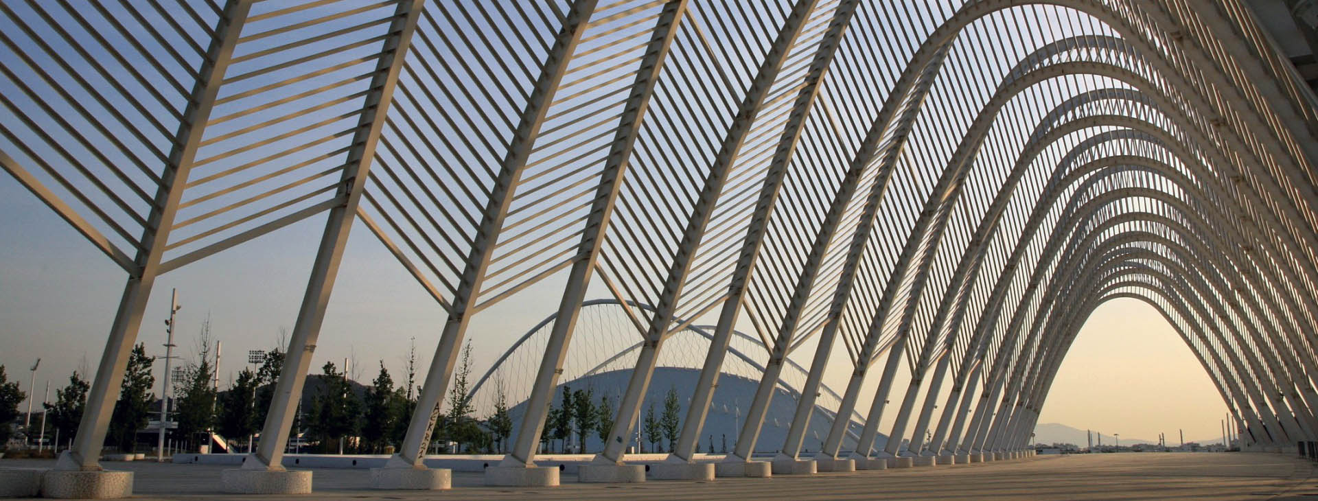Arches at the Olympic Sports Complex, Athens