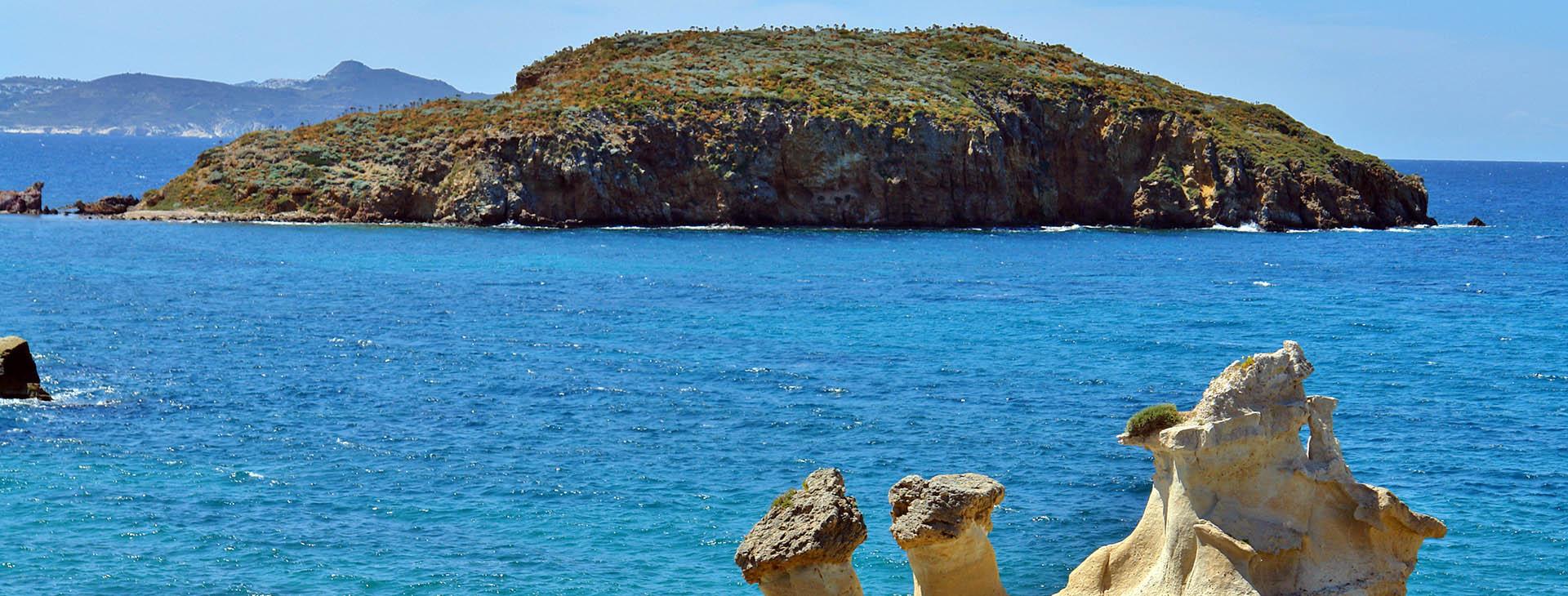 Islet St. Andreas, Kimolos island